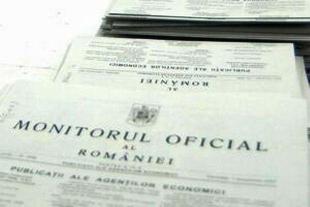 Monitorul Oficial al Romaniei